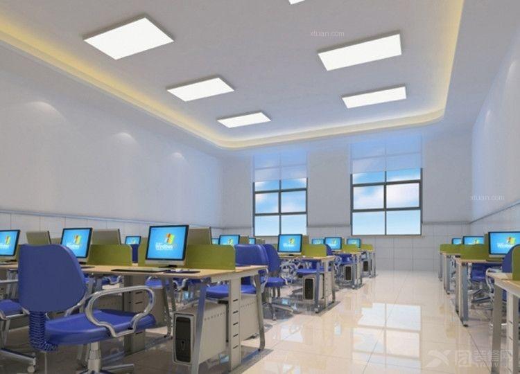现代简约_南京鼓楼区某幼儿园装修效果图-x团装修网