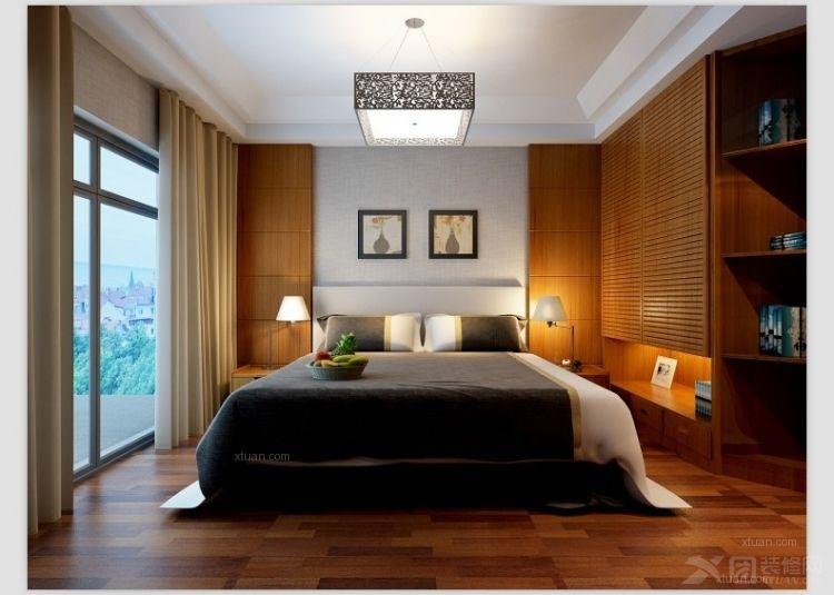 三室两厅中式风格卧室