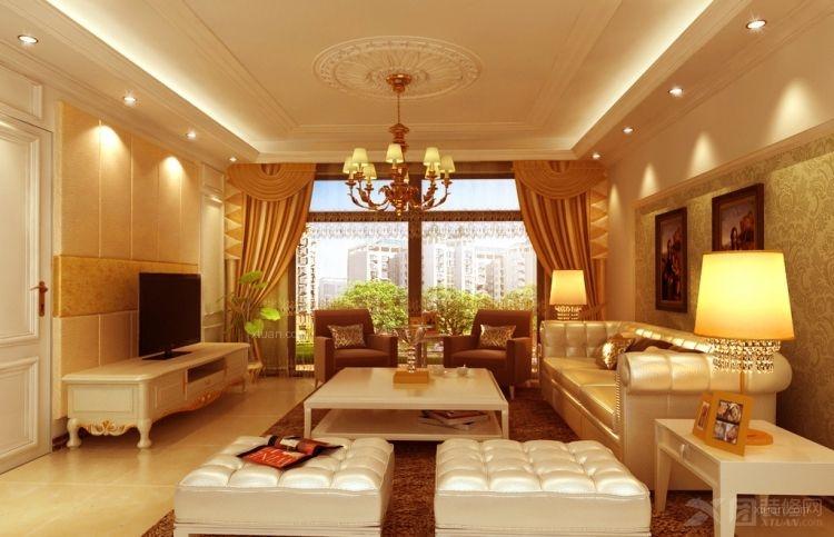 金色漫香苑欧式三居设计方案