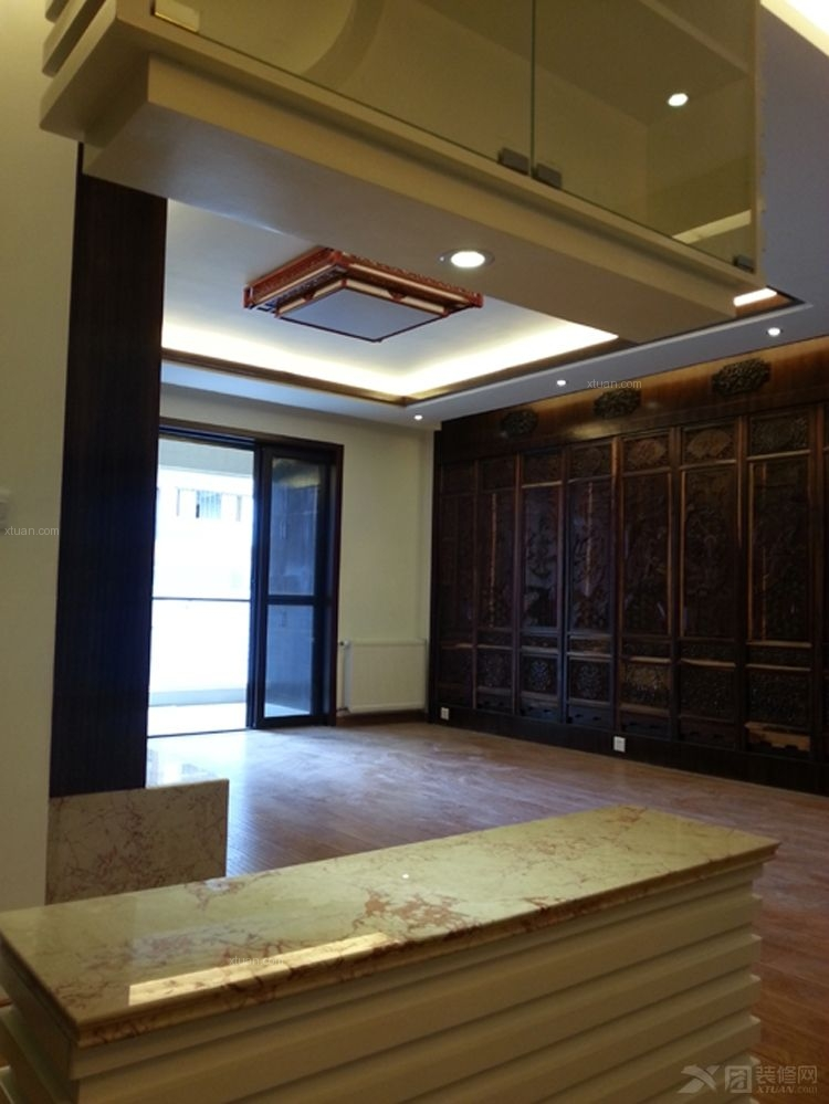 都市国际28万元中式风格装修