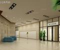 圖書館閱覽室走廊局部圖