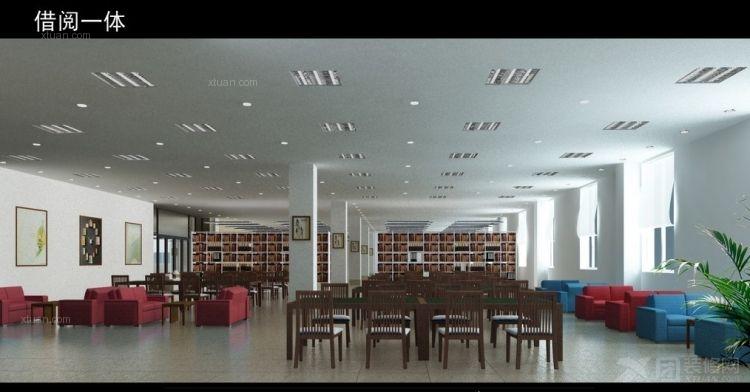 借閱一體閱覽室