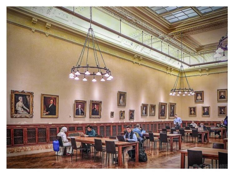 欧式阅览室设计
