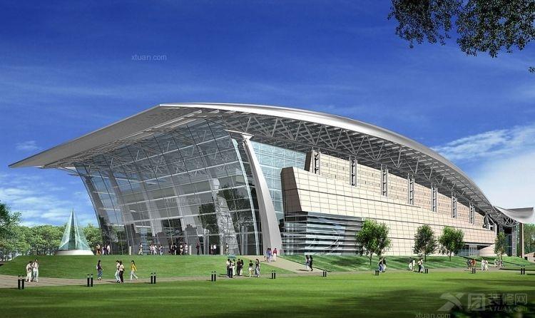 体育馆的设计装修效果图