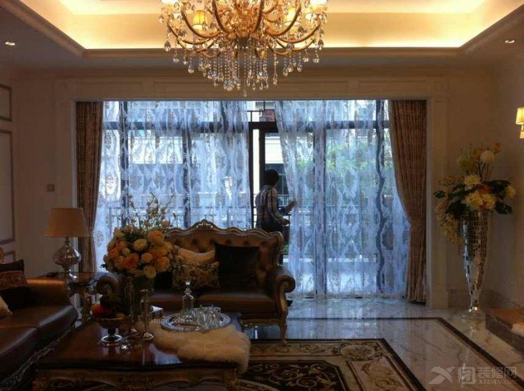 联排别墅欧式风格客厅软装