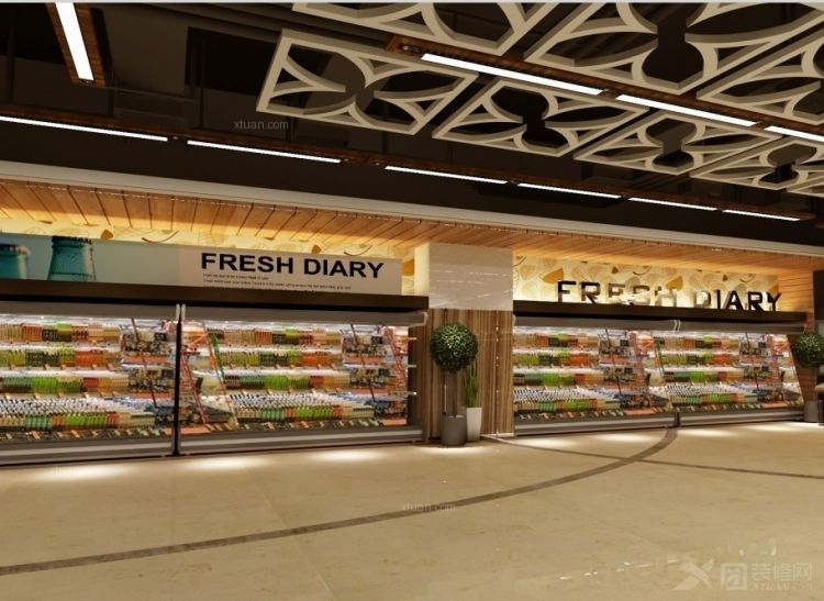 超市冷藏区