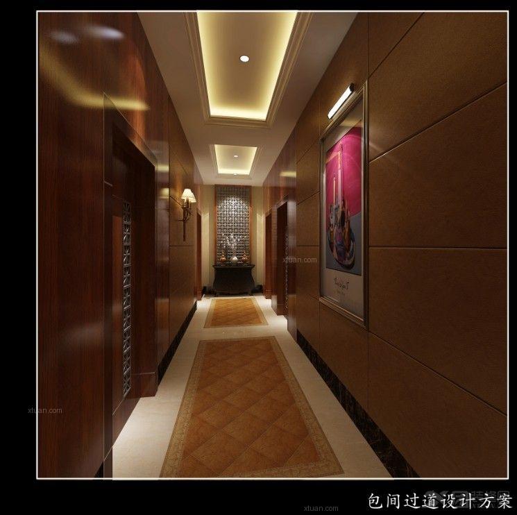 中式风格_绵竹罗腾堡咖啡厅装修效果图-x团装修网图片