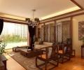 成都尚层装饰--华新锦绣尚郡406㎡中式古典风格