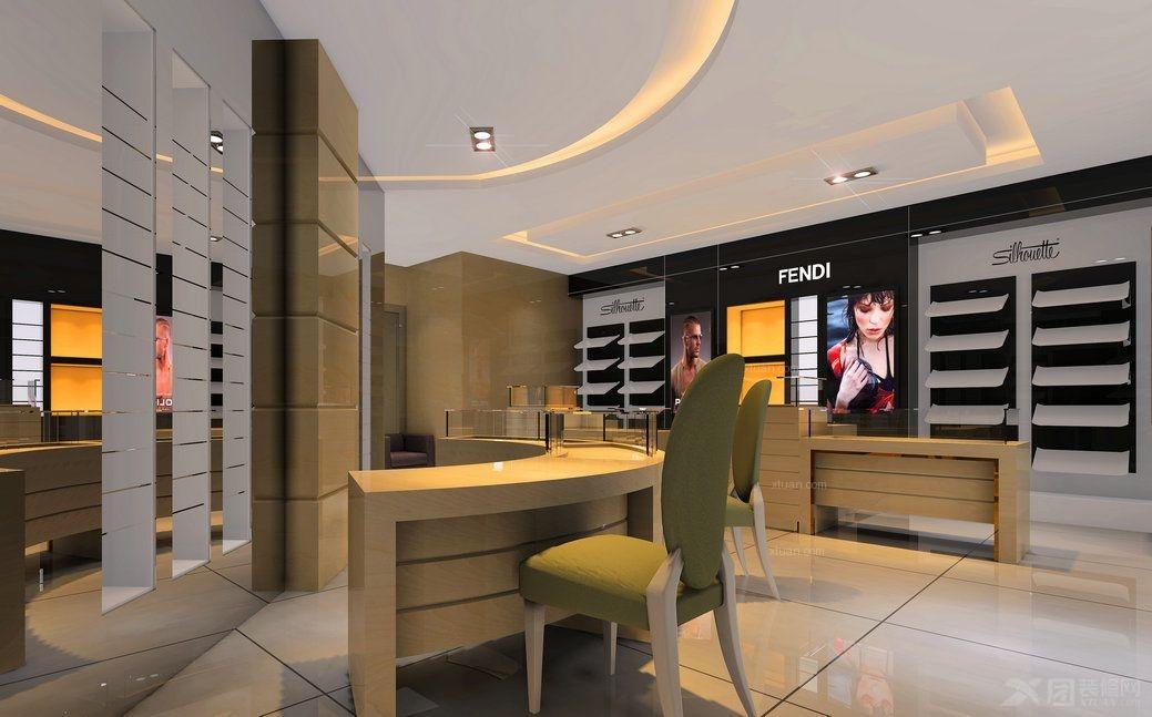 國外眼鏡店裝修設計