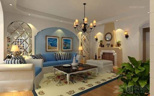 西山区经典双城90平米地中海风格小户型10万元