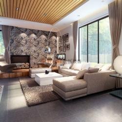 长沙实创装饰-61万打造金色溪泉湾别墅简约风装修设计方案