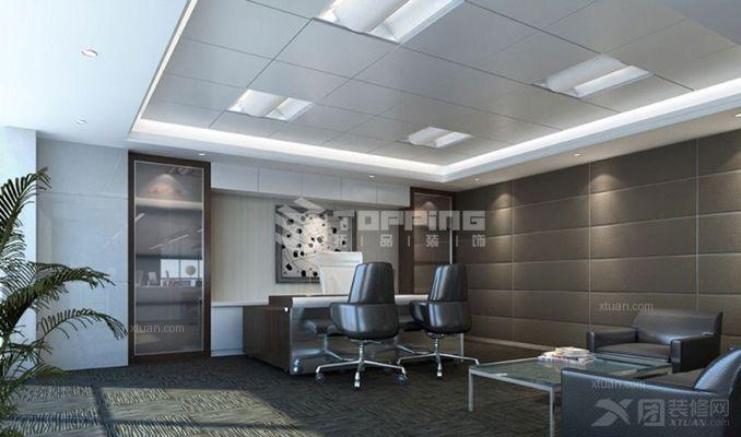 国家电网办公楼装修效果图-x团装修网