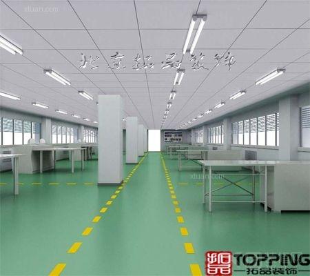 萨克中国厂房装修3