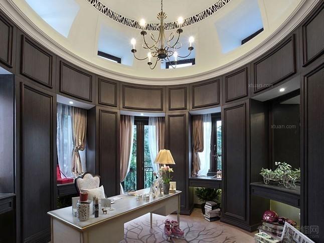 长河玉墅别墅尚层装饰装修设计案例