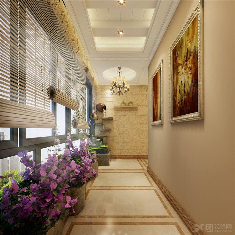 复式楼欧式风格_金质仙湖280平米楼中楼装修效果图-x