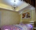 米兰居装饰90平米甜蜜婚房混搭风格装修实景图