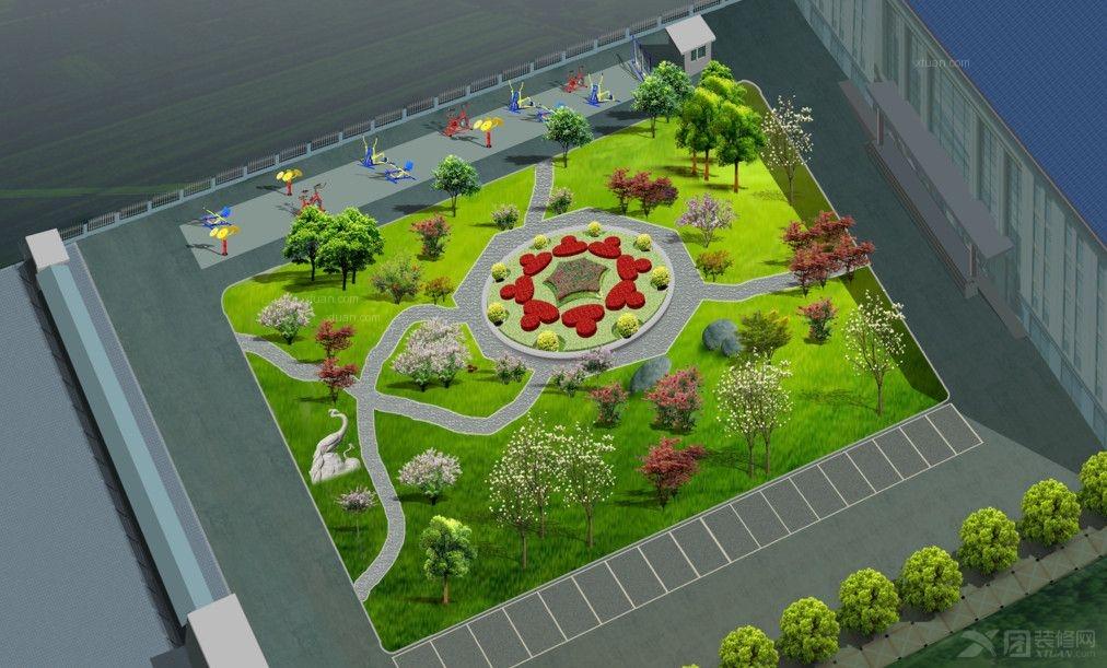公园花坛设计