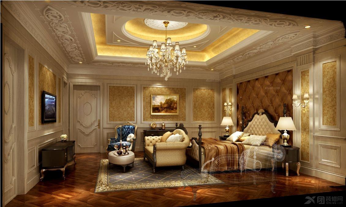 别墅古典风格客厅_上海南郊别墅欧式新古典设计装修图片