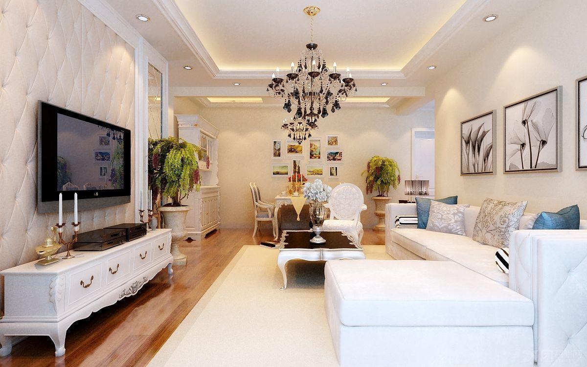 两室一厅简欧风格图片