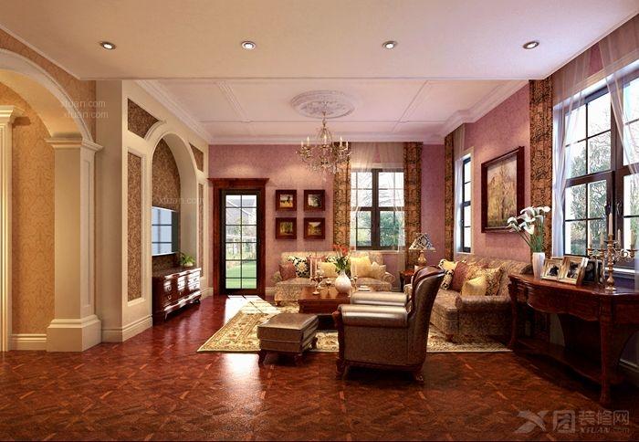 别墅古典风格休闲区