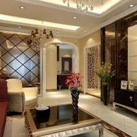 华润置地橡树湾三居室简欧风格低调的小奢华