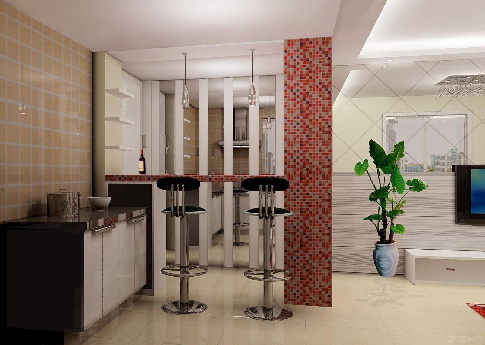一室一厅现代简约餐厅