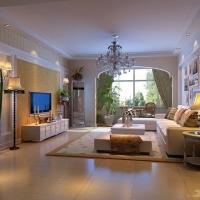 首城国际120平3居室打破了纯古典欧式设计的观念
