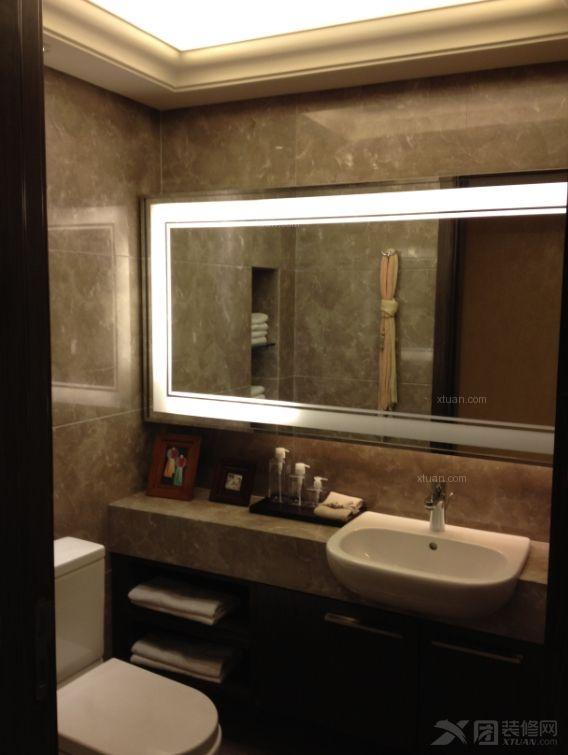 两居室现代风格卫生间