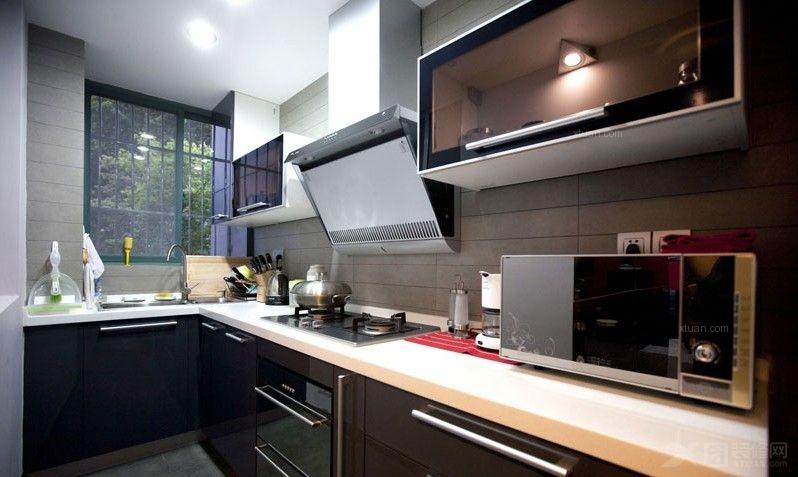 小户型现代简约厨房