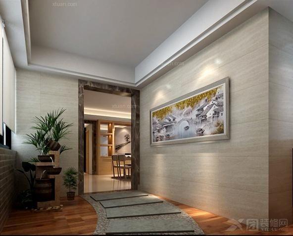 三室兩廳現代風格露臺