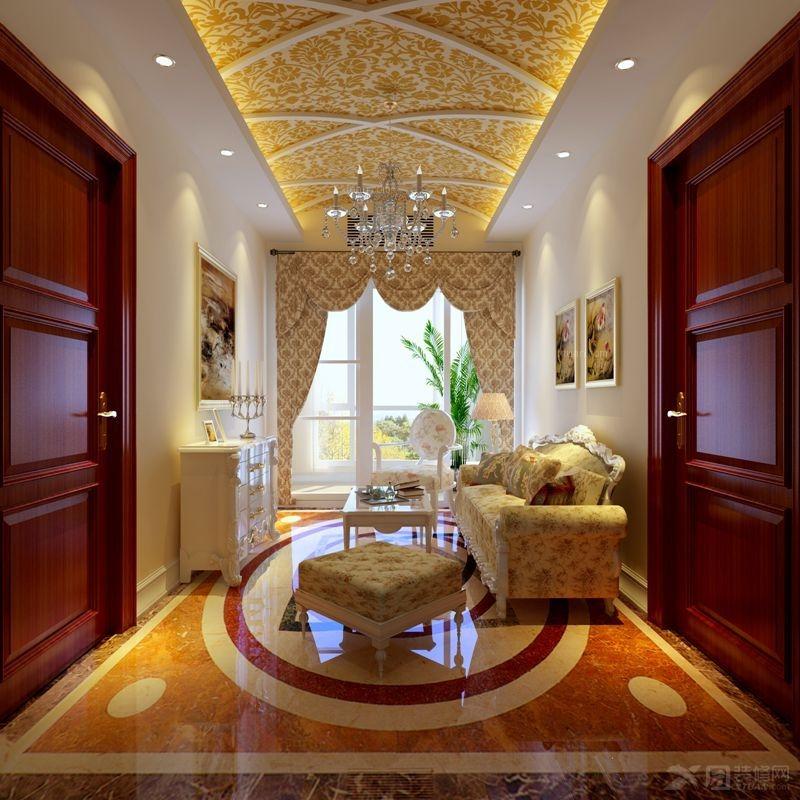 四居室简欧风格休闲区