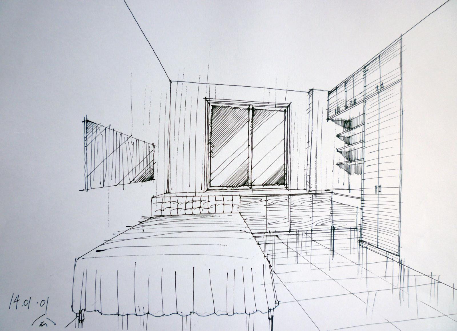 设计手绘装修效果图-x团装修网
