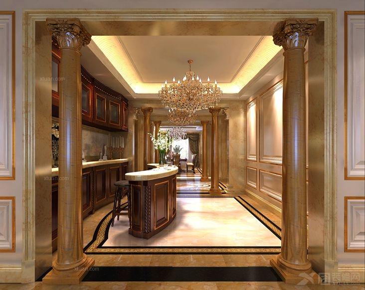 西山壹号院欧式古典装修设计方案