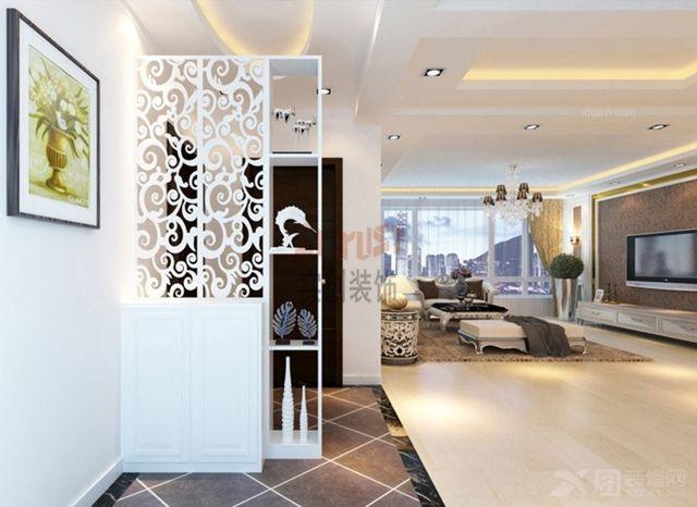 烟台实创装饰-海天雅筑170平米欧式经典