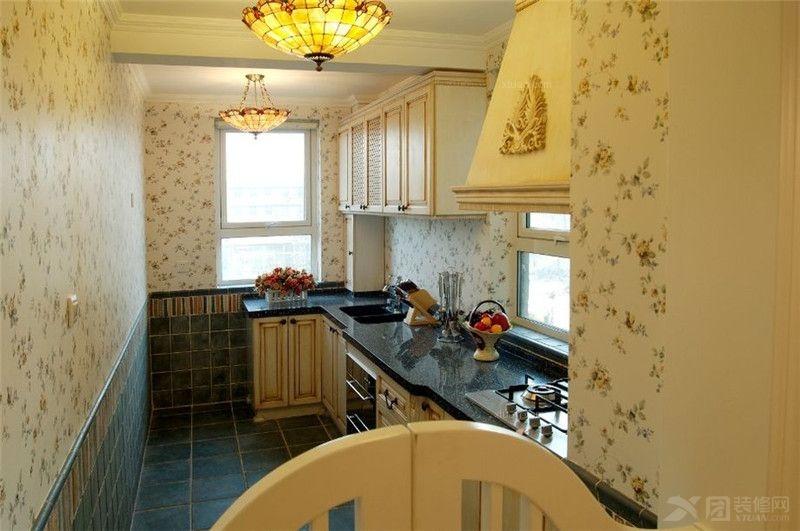 华润橡树湾160平-田园风格四居室