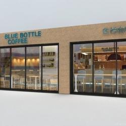 广州俊派室内设计蓝樽咖啡天河城建大厦店