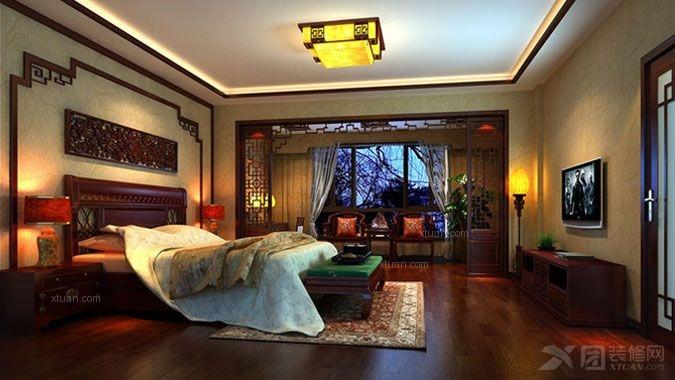 龙湖时代天街140平中式风格