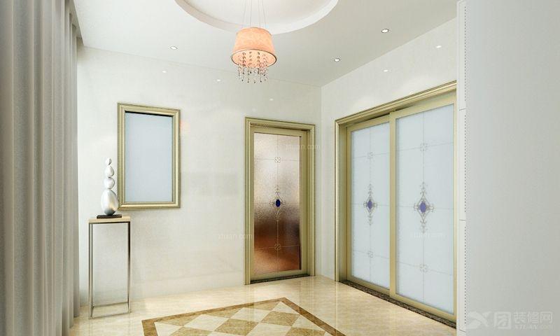 两室两厅现代风格阳台花园