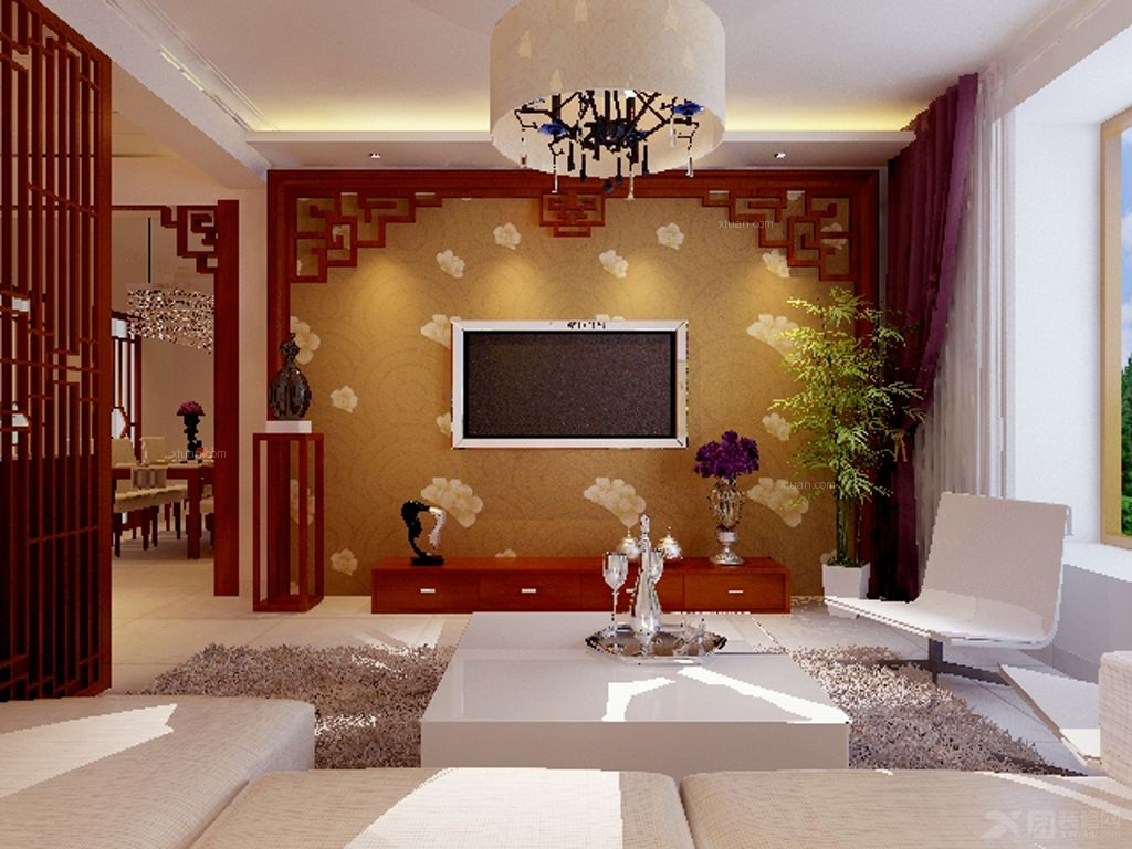 两室两厅中式风格
