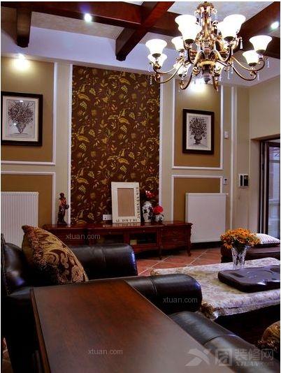 一居室美式风格客厅