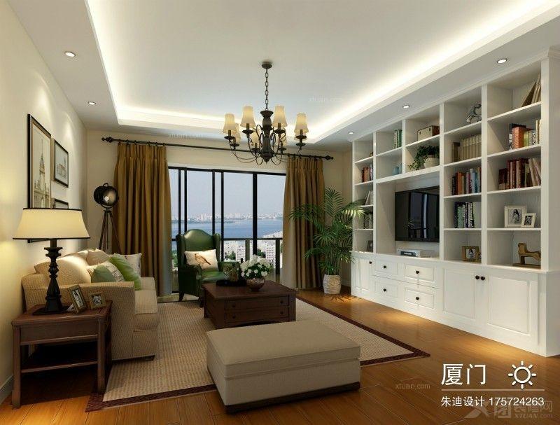 三居室美式风格