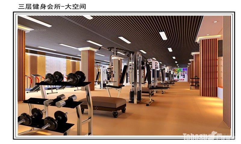 欧式风格_健身房装修效果图-x团装修网图片