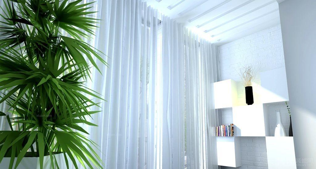 两居室中式风格阳台