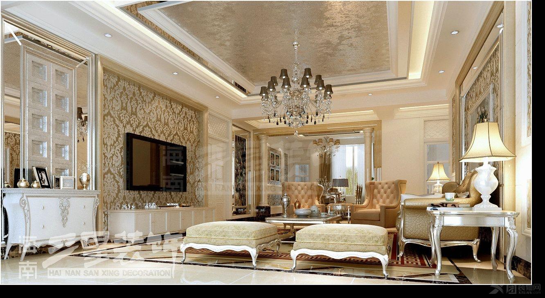 四居室简约风格客厅
