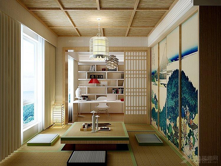 MOMA万万树日式风格装修效果图