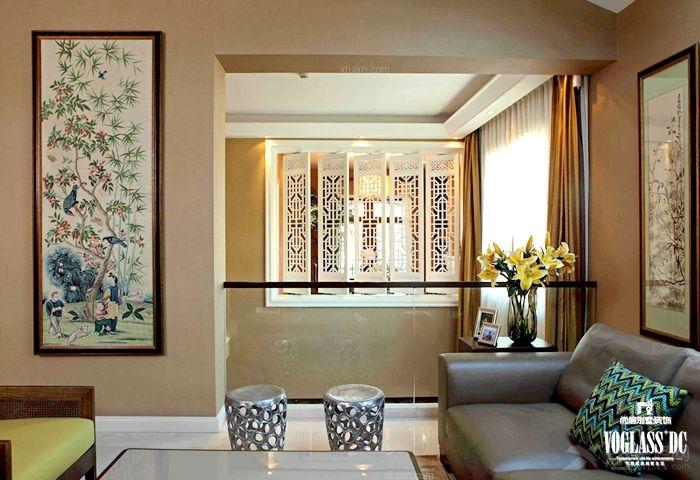 尚层保利西山林语中式风格装修设计