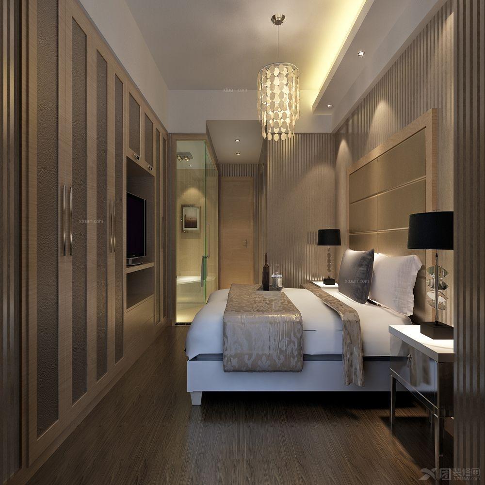 复式楼现代简约主卧室