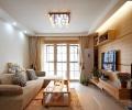 【米兰居装饰】92平米现代简约二居室装修效果图
