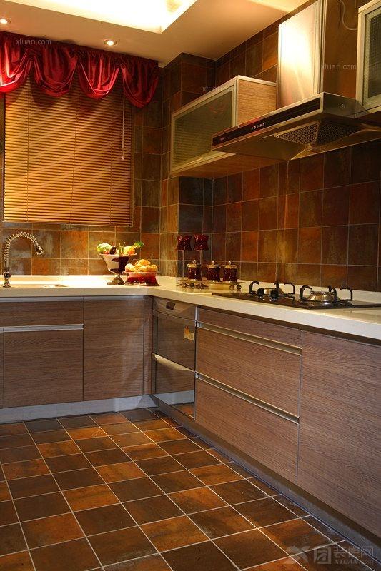 三居室东南亚风格厨房