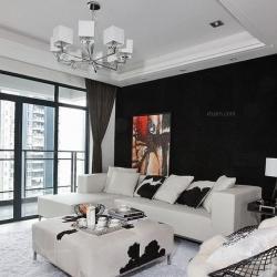 新古典风格-三居室-115平米